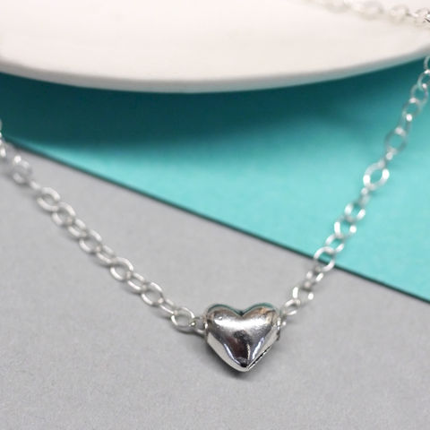 Love,Heart,Charm,Necklace,Love Heart Necklace, Heart Charm Necklace, Silver Heart Necklace, Silver Necklace, Gifts For Her, Gifts For Women, Maria Allen Boutique, Maria Allen jewellery, Maria Allen Gifts