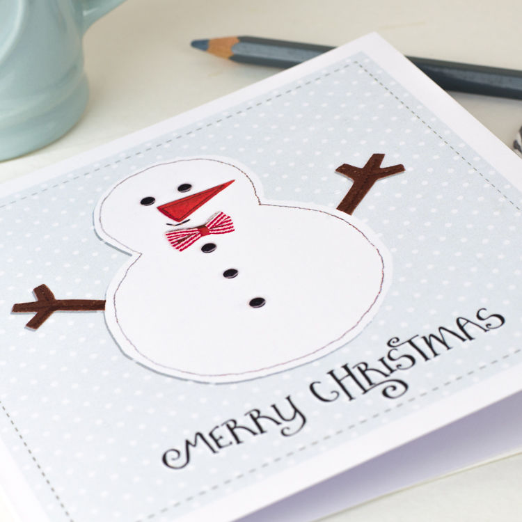 Pack Of Christmas Cards Snowman Design - product images  of