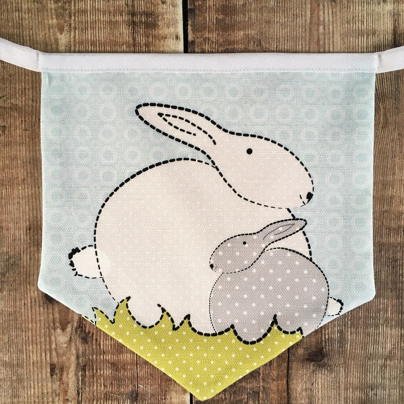 Bunny Flag bunting - product images  of