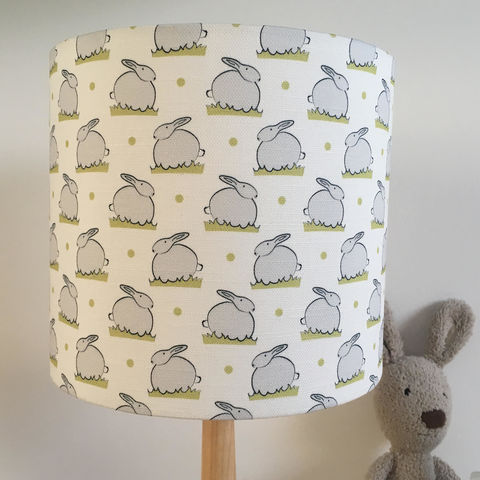Bunny,Linen,Nursery,Lampshade,bunny,Themed,Housewares,Lighting,nursery_decor,rabbit_nursery,bunny_nursery,nursery_style,bunny_print,lampshade,lamp_shade,nursery_lighting,nursery_lampshade,bunny_lampshade,Fabric