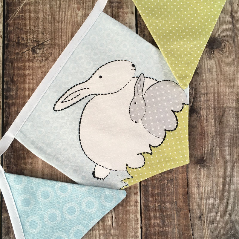 Bunny Bunting For A Bunny Themed Nursery - product images  of