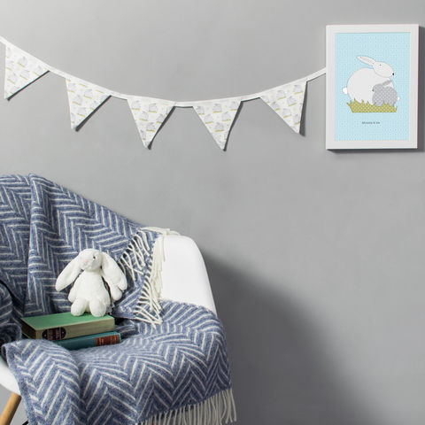 Nursery,bunting,in,all,over,bunny,print,Housewares,Home_Decor,nursery_decor,rabbit_nursery,bunny_nursery,fabric_bunting,garland,nursery_bunting,nursery_style,bunny_print