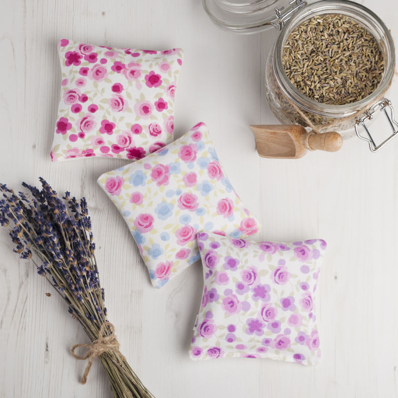 Pretty Monogrammed Lavender Pillow - product images  of