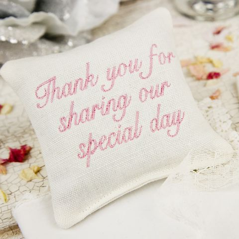 Embroidered,Wedding,Favours,Lavender,Pillows,wedding favor, lavender, embroidery, pillow,