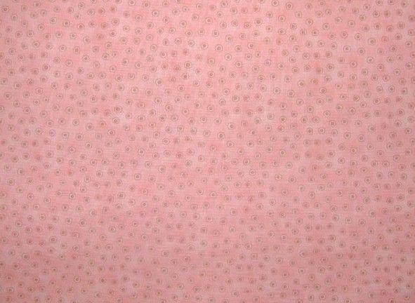 Cotton Quilt Fabric My Favorite Things Dusty Pink Dots