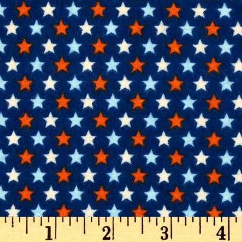 Cotton,Flannel,Quilt,Fabric,Rocket,Age,Stars,Red,White,Blue,quilt fabric,cotton material,sewing,crafts,quilting,online fabric,sale fabric
