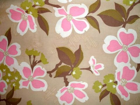 Cotton,Quilt,Fabric,Modern,Meadow,Tan,Pink,Joel,Dewberry,quilt fabric,cotton material,auntie chris quilt,sewing,crafts,quilting,online fabric,sale fabric,fat quarters,modern cotton, crafts