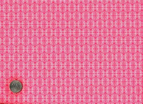 Cotton,Quilt,Fabric,Asia,Chinese,Coins,Asian,Pink,Girls,quilt fabric,cotton material,auntie chris quilt,sewing,crafts,quilting,online fabric,sale fabric,fat quarters
