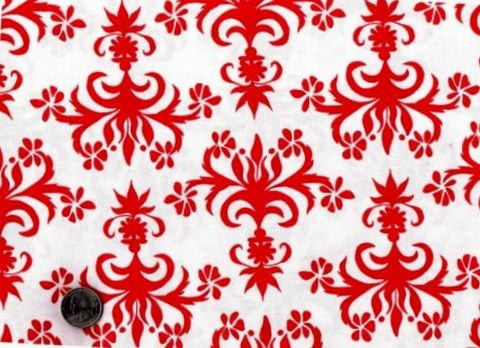 Cotton,Quilt,Fabric,Del,Hi,Red,And,White,Chandelier,Ruby,quilt fabric,cotton material,auntie chris quilt,sewing,crafts,quilting,online fabric,sale fabric,fat quarter,modern cotton