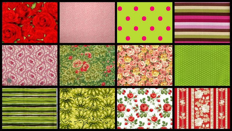 Rose And Thyme Garden Stash Builder Quilt Fabric 3 Yards - product images  of