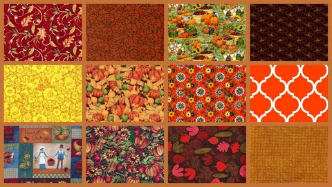 3,Yard,Stash,Builder,Autumn,Harvest,Fall,Theme,Quilt,Fabric,quilt fabric,cotton material,auntie chris quilt,sewing,crafts,quilting,online fabric,sale fabric
