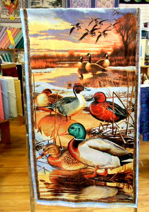 Panel Plus Duck Duck Goose Nature Lover Panel Plus Backing  - product images  of