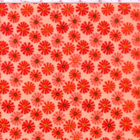 Cotton,Quilt,Fabric,Roots,And,Wings,Coral,Floral,Riley,Blake,quilt fabric,cotton material,auntie chris quilt,sewing,crafts,quilting,online fabric,sale fabric
