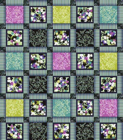 Cotton,Quilt,Fabric,Costa,De,La,Flores,Folkloric,Patchwork,Azure,quilt fabric,cotton material,auntie chris quilt,sewing,crafts,quilting,online fabric,sale fabric