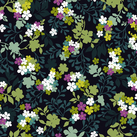 Cotton,Quilt,Fabric,Costa,De,La,Flores,Folkloric,Floral,Azure,quilt fabric,cotton material,auntie chris quilt,sewing,crafts,quilting,online fabric,sale fabric