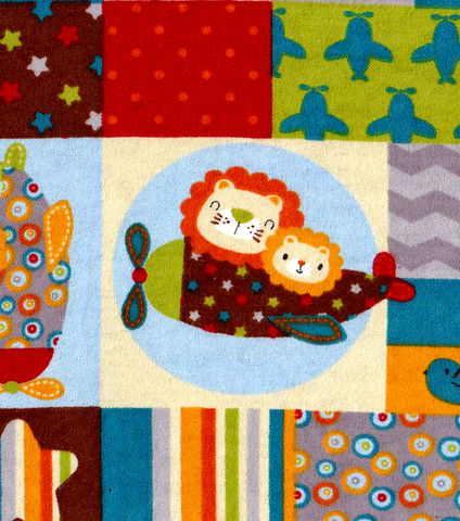 Cotton,Flannel,Quilt,Fabric,Snuggle,Animal,Pilots,Planes,Lion,Giraffe,quilt fabric,cotton material,sewing,crafts,quilting,online fabric,sale fabric