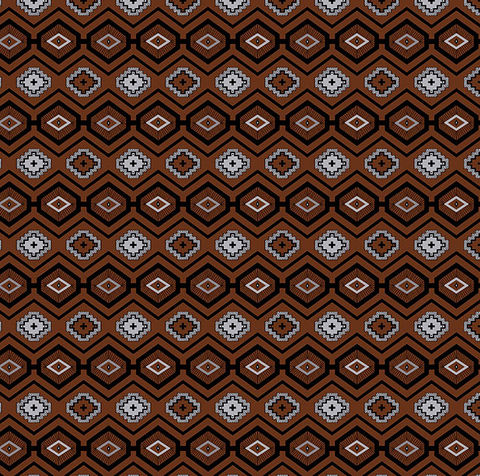 Cotton,Quilt,Fabric,Flannel,Native,Geo,Brown,Southwest,Indian,quilt fabric,cotton material,sewing,crafts,quilting,online fabric,sale fabric,quilt backings,modern cotton,fat quarters,moda