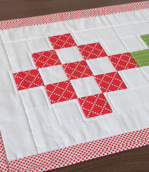 Not Quite Granny Table Runner Kit by Crazy Mom Quilts - product images  of
