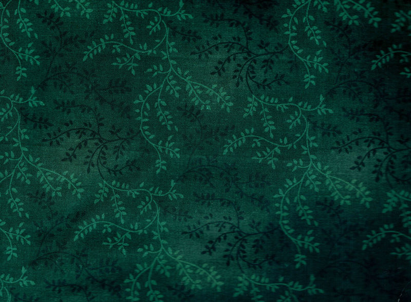 Cotton Quilt Fabric Wide Tonal Vine 53  Extra Wide Forest Green ... : white tone on tone quilt fabric - Adamdwight.com