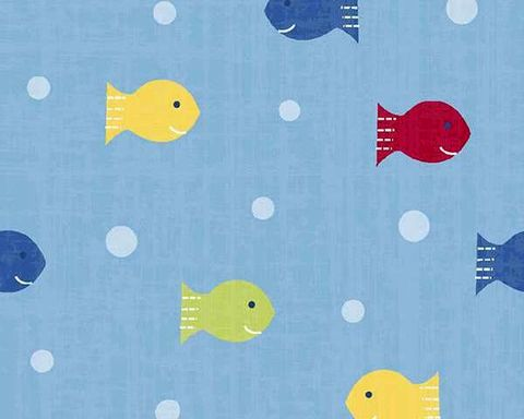 Cotton,Quilt,Fabric,Ships,Ahoy,Fishy,Polka,Dots,Baby,Blue,,quilt backing, dresses, quilt fabric,cotton material,auntie chris quilt,sewing,crafts,quilting,online fabric,sale fabric