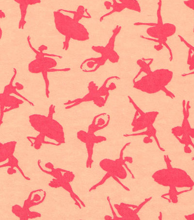 Cotton,Flannel,Quilt,Fabric,Ballerina,Silhouette,Ballet,Pink,Peach,,quilt backing, dresses, quilt fabric,cotton material,auntie chris quilt,sewing,crafts,quilting,online fabric,sale fabric