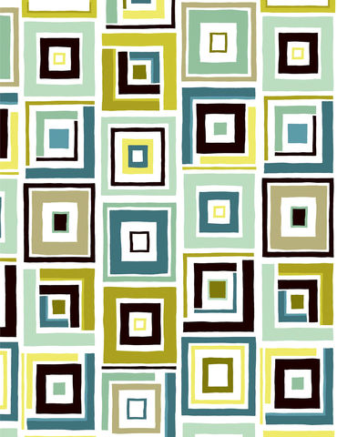 Modern,Block,Print,Benartex,Dwellings,Box,Trot,White/Aqua,1,Panel,quilt fabric,cotton material,auntie chris quilt,sewing,crafts,quilting,online fabric,sale fabric