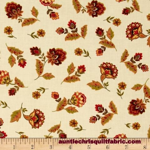 Cotton,Quilt,Fabric,Tossed,Marigold,Flowers,Cream,Multi,Floral,,quilt backing, dresses, quilt fabric,cotton material,auntie chris quilt,sewing,crafts,quilting,online fabric,sale fabric