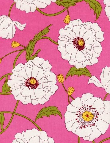 Cotton,Quilt,Fabric,Tribeca,Large,Floral,Poppies,Pink,c3435,,quilt backing, dresses, quilt fabric,cotton material,auntie chris quilt,sewing,crafts,quilting,online fabric,sale fabric