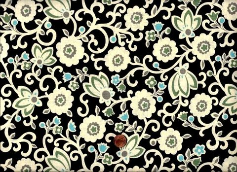 Cotton,Quilt,Fabric,Denyse,Schmidt,New,Bedford,Tapestry,Floral,Sea,,quilt backing, dresses, quilt fabric,cotton material,auntie chris quilt,sewing,crafts,quilting,online fabric,sale fabric