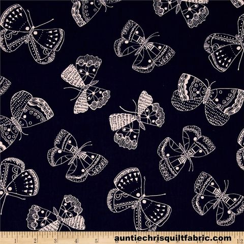 Cotton,Quilt,Fabric,Whisper,Butterflies,Navy,Nature,Print,,quilt backing, dresses, quilt fabric,cotton material,auntie chris quilt,sewing,crafts,quilting,online fabric,sale fabric