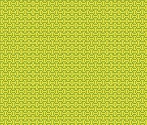 Cotton Quilt Fabric Dog Park Dog Bones Studio E Lime Green - product images  of