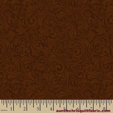 Cotton,Quilt,Fabric,Autumn,Palette,Flourish,Brown,Tone,On,,quilt backing, dresses, quilt fabric,cotton material,auntie chris quilt,sewing,crafts,quilting,online fabric,sale fabric