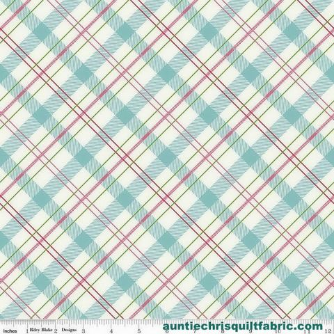 Cotton,Quilt,Fabric,Riley,Blake,Enchanted,Bias,Plaid,Mint,Pink,,quilt backing, dresses, quilt fabric,cotton material,auntie chris quilt,sewing,crafts,quilting,online fabric,sale fabric