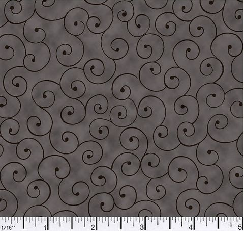 Cotton,Quilt,Fabric,Tilt,A,Whirl,Swirly,Tone,On,Black,Gray,,quilt backing, dresses, quilt fabric,cotton material,auntie chris quilt,sewing,crafts,quilting,online fabric,sale fabric