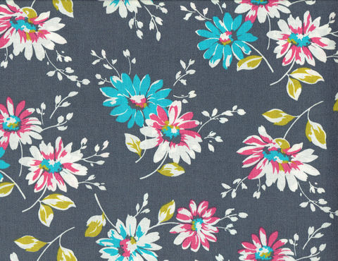 Cotton,Quilt,Fabric,Bunches,Of,Daisies,Floral,Gray,Multi,Made,In,USA,,quilt backing, dresses, quilt fabric,cotton material,auntie chris quilt,sewing,crafts,quilting,online fabric,sale fabric