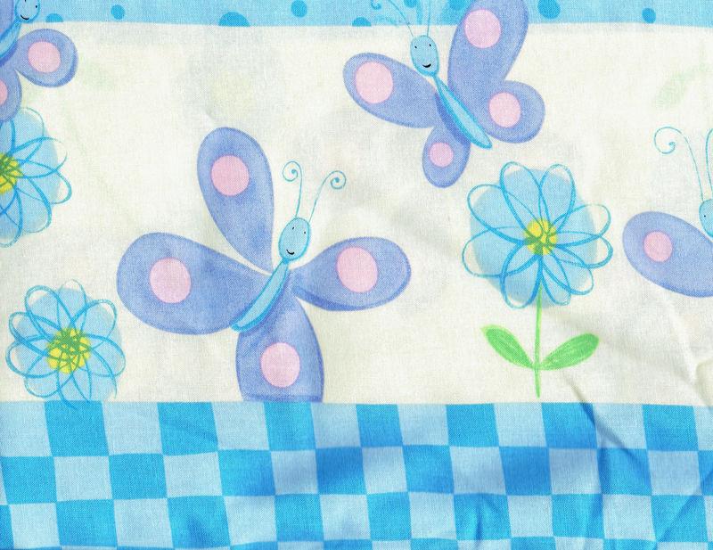 Cotton Quilt Fabric Spring Fling Border Stripe Flowers