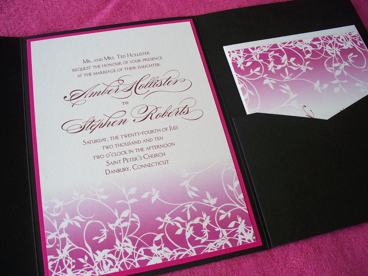 Galway Wedding Invitation Sample Tulaloo