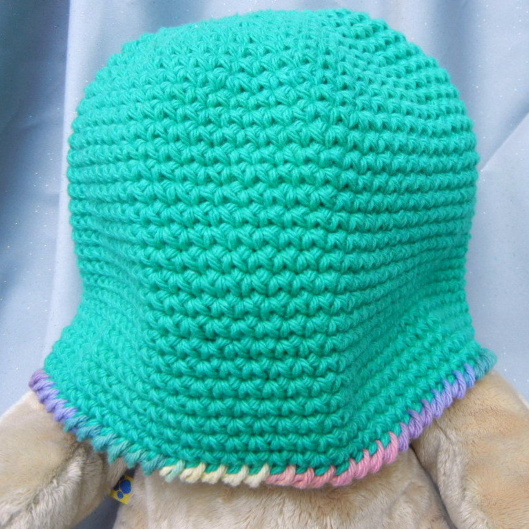 Crochet Hat Green Beanie Hat - product image