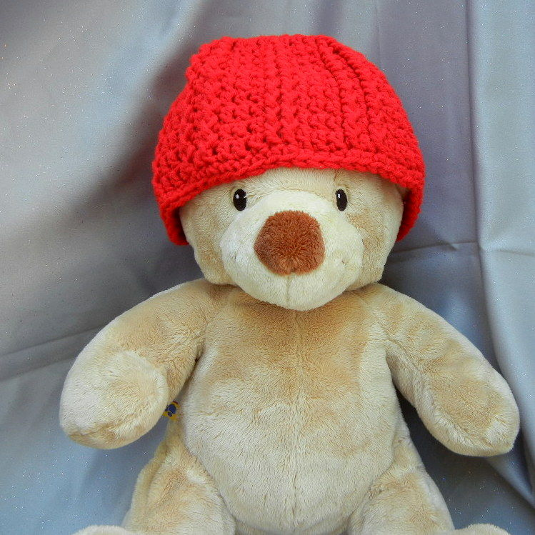 Crochet Red Hat for Kids - product image