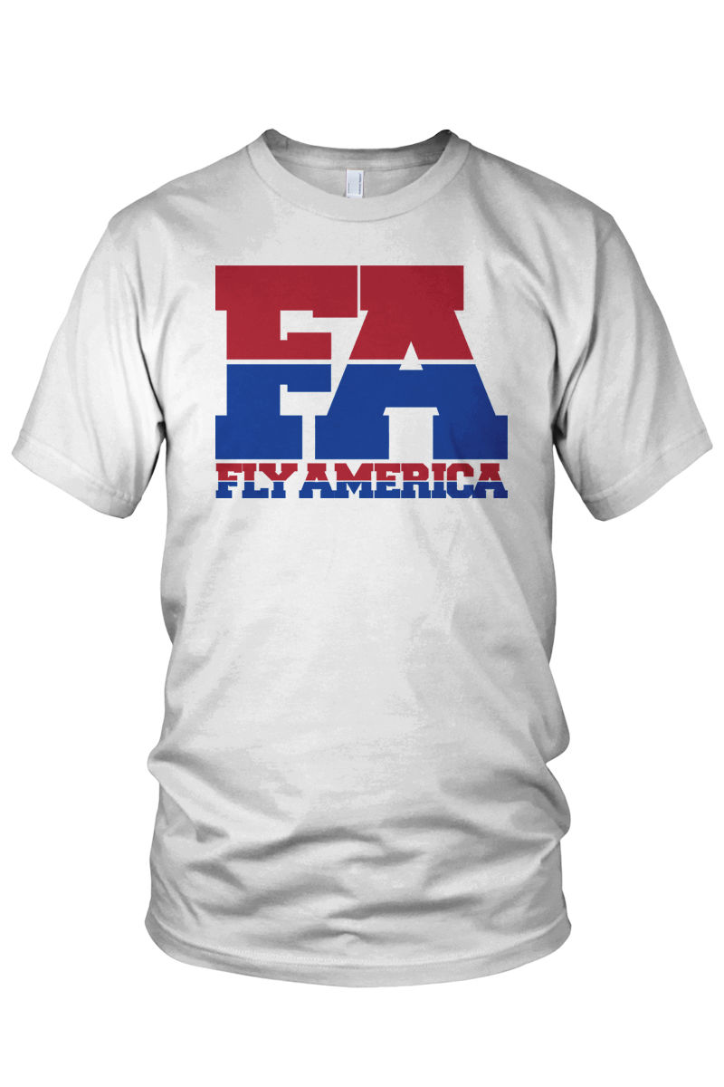 "Fly America ""FA"" Olympic Logo Shirt - product images  of"