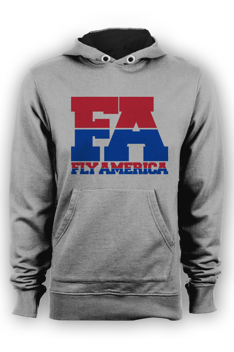 "Fly America ""FA"" Olympic Hoodie - product images  of"