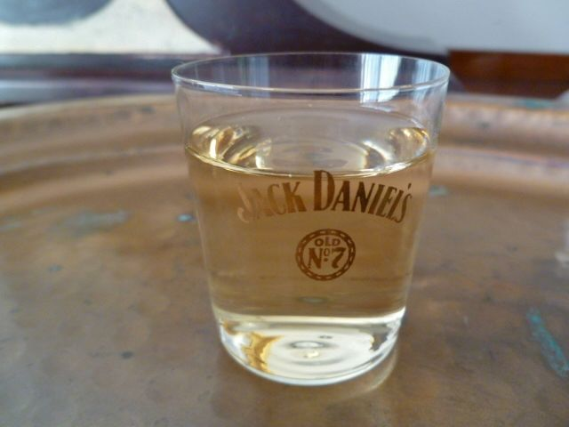 Jack Daniel's Old No. 7  Shot Glass Set,  Vintage Shot Glasses,  Rare Collectible Whiskey Shells,  Set of 7 Shot Glasses - product images  of