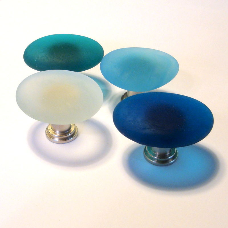 Beach Glass Cabinet Knob Drawer Pull $12 - product images  of