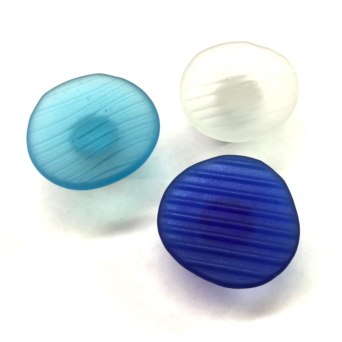 Awesome Beach Glass Drawer Pulls Part - 7: Ohajiki Sea Glass Inspired Cabinet Knobs Beach Drawer Pulls