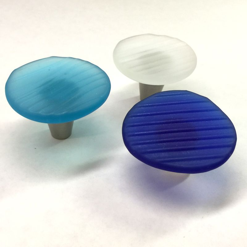 Ohajiki Sea Glass Inspired Cabinet Knobs Beach Drawer Pulls - product images  of
