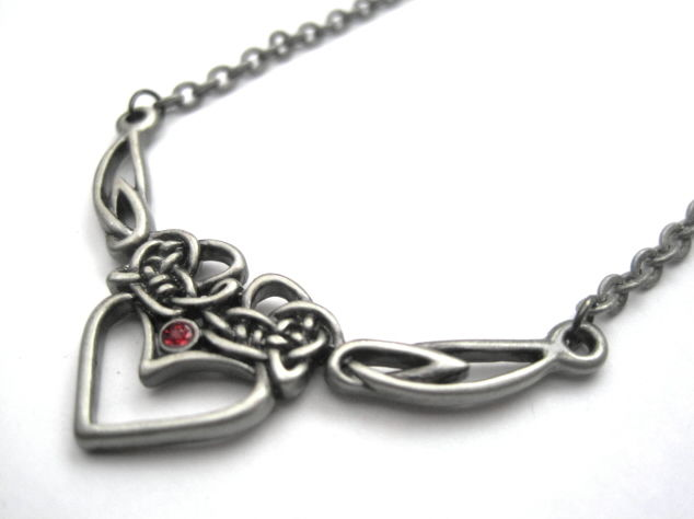Celtic Heart Necklace - product images  of