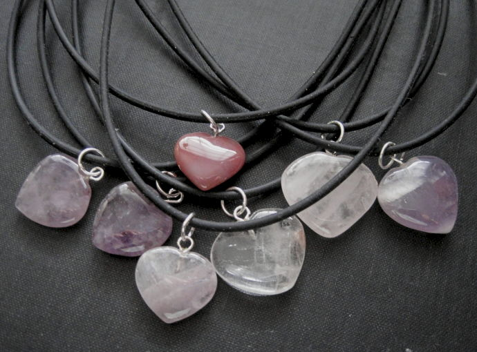 Gemstone heart choker necklace vamps jewelry gothic victorian jewelry gemstone heart choker necklace mozeypictures Image collections