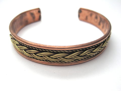 Celtic,Copper,Cuff,Bracelet,Celtic Copper Cuff Bracelet