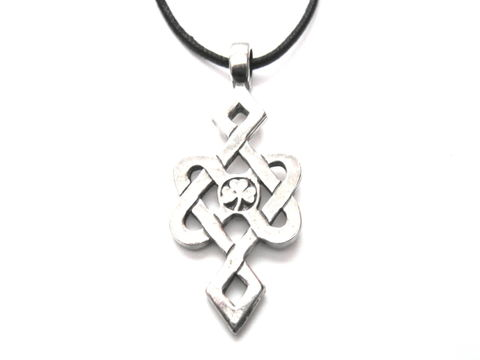 Celtic,Knot,Luck,Amulet,Cord,Necklace,Celtic Knot Luck Amulet Cord Necklace