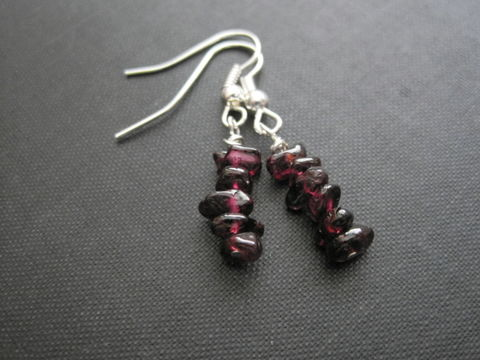 Red,Garnet,Gemstone,Nugget,Dangle,Earrings,gemstone, red garnet, nugget, dangle earrings, garnet dangle earrings, red garnet earrings, nugget earrings red garnet earrings, vamps jewelry, gemstone jewelry, wire wrapped handmade earrings
